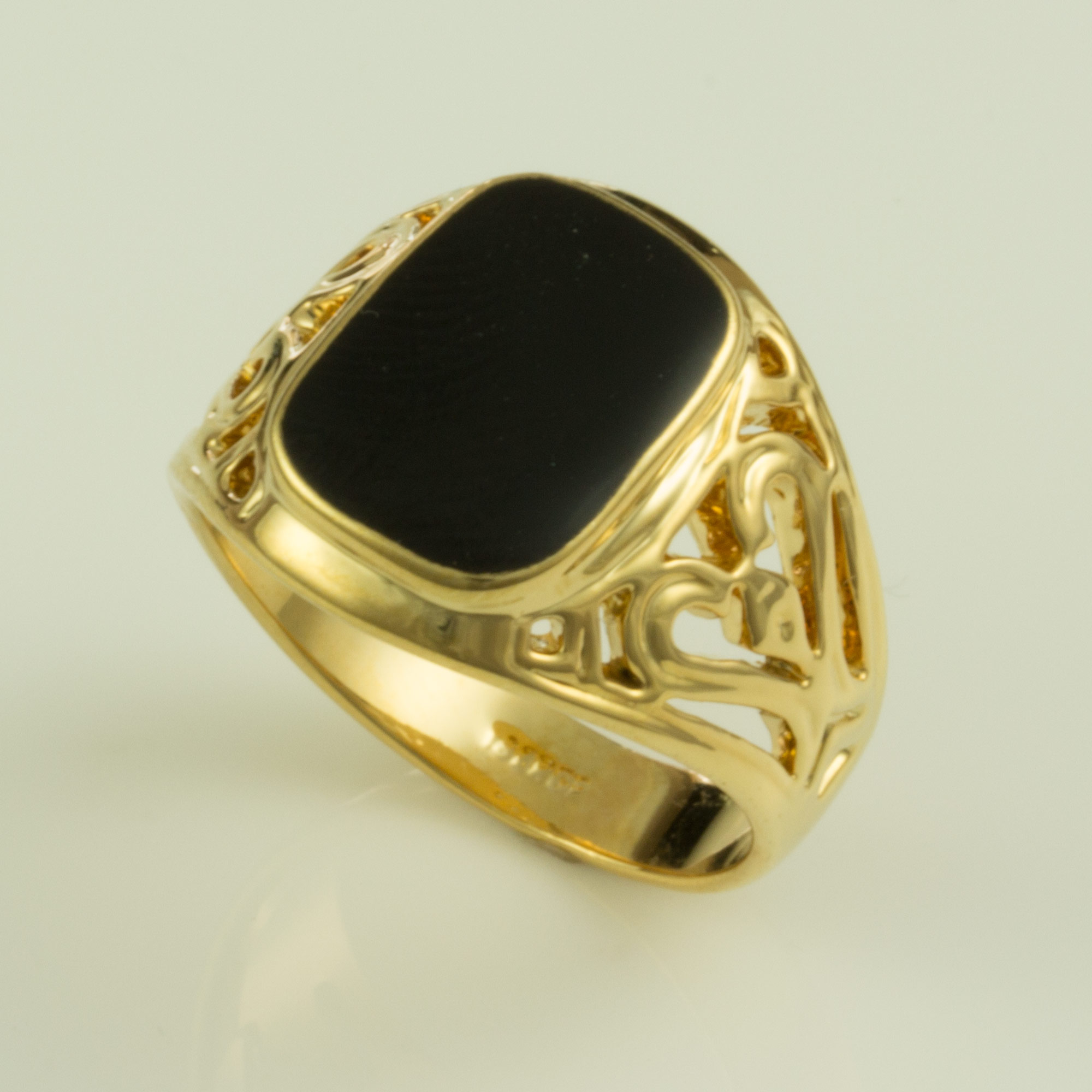 filigree to deco rings onyx preadored diamond art ring white products gold black wedding