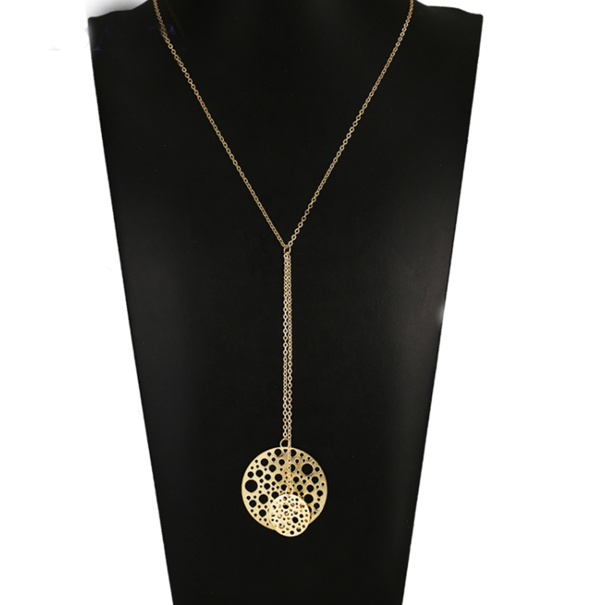 lanvin fwrd knotted in necklace chain pendant chains image jewelry gold of product lanv